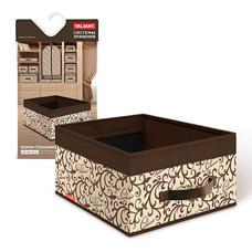 Короб стеллажный без крышки, 35x25x16см, Classic Valiant CL-BOX-MТовары для гардероба<br><br>
