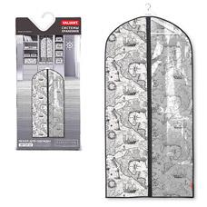 Чехол для одежды с прозрачной вставкой, большой, 60x137см, Expedition Valiant EX-CW-137Товары для гардероба<br><br>