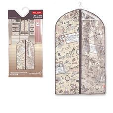 Чехол для одежды с прозрачной вставкой, малый, 60x100см, Romantic Valiant RM-CW-100Товары для гардероба<br><br>