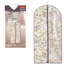 Чехол для одежды с прозрачной вставкой, большой, 60x137см, Romantic Valiant RM-CW-137Товары для гардероба<br><br>