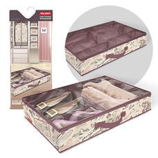 Кофр для хранения обуви со съемными перегородками, 6 секций, 60x40x12см, Romantic Valiant RM-SM6Товары для гардероба<br><br>