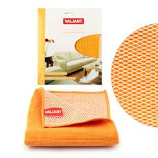 Салфетка для уборки двухсторонняя 30x30 см оранжевая Valiant WF01-OТовары для уборки<br><br>