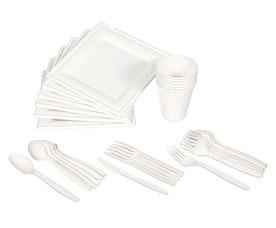 Набор посуды для пикника БИОразлагаемый на 6 персон Boyscout 61151Посуда для туризма<br><br>