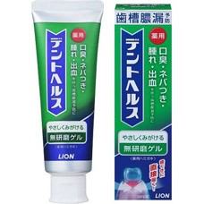 Зубная паста-гель LionDent Health для профилактики болезней десен и кариеса 85гр 4903301176558Бытовая химия<br><br>