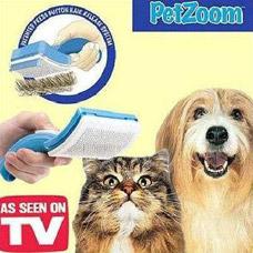 Щетка-триммер с самоочисткой Pet Zoom для кошек и собакТовары для дома<br><br>