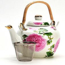 Заварочный чайник Mayer&amp;Boch MB-21135, 1л ПионыЗаварочные чайники<br><br>