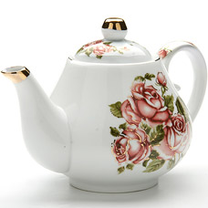 Заварочный чайник Lorraine LR-24564, 1л РозыЗаварочные чайники<br><br>