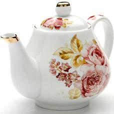 Заварочный чайник Lorraine LR-24560, 1л РозыЗаварочные чайники<br><br>