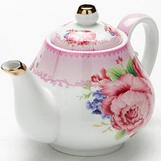 Заварочный чайник Lorraine LR-24559, 1л РозыЗаварочные чайники<br><br>