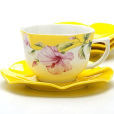 Чайный набор Lorraine LR-24704, 8пр 0.23л ЦветыВыгодно купить<br><br>