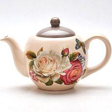 Заварочный чайник Mayer&amp;Boch MB-21693 950мл РозыСервировка стола<br><br>