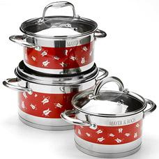 Набор посуды Mayer&amp;Boch MB-24949, 6пр 2,1+2,9+3,9лПосуда<br><br>
