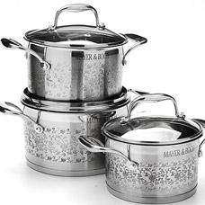 Набор посуды Mayer&amp;Boch MB-24951, 6пр 2,1+2,9+3,9лПосуда<br><br>