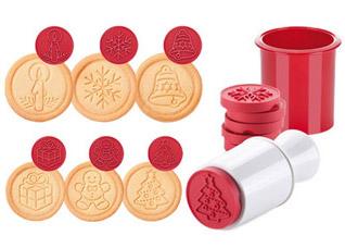 Печать для печенья Delicia, 6 рождественских мотивов Tescoma 630114Выпечка<br><br>