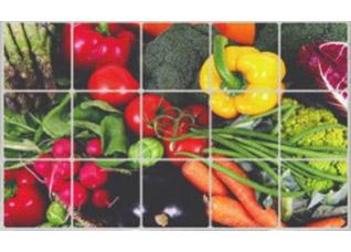 Экран защитный кухонный Овощи Bradex TK 0148TV товары для кухни<br><br>