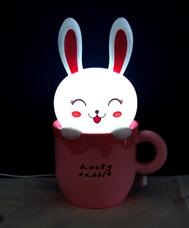 Настольная лампа-ночник Счастливый кролик 31Век EX-1101АНочники<br><br>