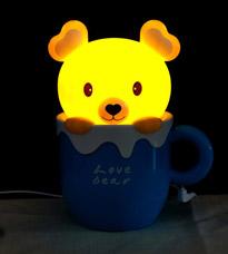 Настольная лампа-ночник Медвежонок 31Век EX-1101СНочники<br><br>