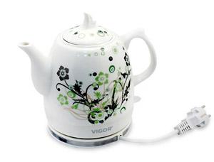 Чайник электрический керамический Vigor HX-2096Чайники и кофеварки<br><br>