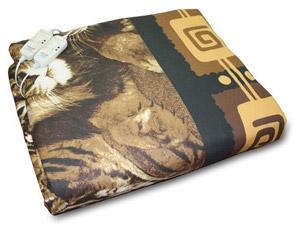 Одеяло электрическое 2 зоны обогрева 185х190см Инкор арт.78017Бельё с подогревом<br><br>