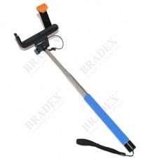Штатив для создания снимков сэлфи голубой Bradex TD 0330Электроника<br><br>