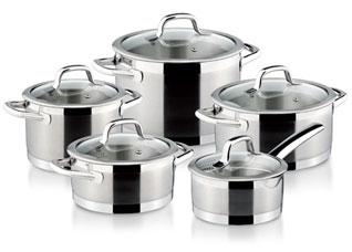 Набор посуды President, 10 предметов Tescoma 780210Варка и жарка<br><br>