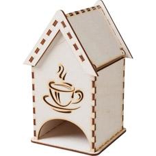 Домик для хранения чая, деревянный Банные штучки 32330Все для бани<br><br>