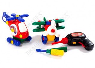 Конструктор детский Маленькая авиация Bradex DE 0113игрушки<br><br>