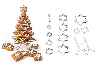 Рождественская елка Delicia , набор для выпечки пряников, Tescoma 631416Выпечка<br><br>