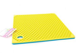 Силиконовый коврик квадратный 20 см Fissman 7119Кухонные аксессуары<br><br>