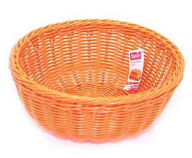 Плетеная корзинка круглая 24 x 10 см Fissman 7321Кухонные аксессуары<br><br>