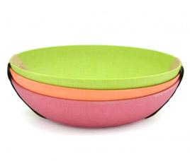 Набор из 3 глубоких тарелок 20 см Fissman 7158Кухонные аксессуары<br><br>