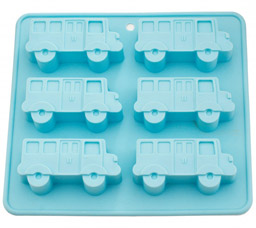 Форма для выпечки 6 кексов Автобус 22 x 20 x 2,8 см Fissman 6653Выпечка<br><br>