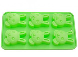 Форма для выпечки 6 кексов Зайчик 26 x 14,5 x 3 см Fissman 6654Выпечка<br><br>