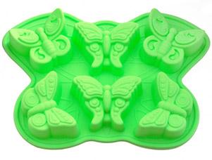 Форма для выпечки 6 кексов Бабочка 32,5 x 23 x 3,8 см Fissman 6660Выпечка<br><br>