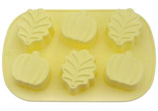Форма для выпечки 6 кексов Листья, Яблока 25 x 16,8 x 3,8 см Fissman 6666Выпечка<br><br>