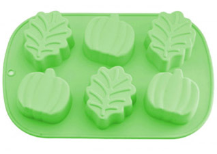 Форма для выпечки 6 кексов Листья, Яблока 25 x 16,8 x 3,8 см Fissman 6667Выпечка<br><br>