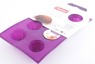 Форма для выпечки 8 кексов 29 x 17 x 3,5 см Fissman 7757Выпечка<br><br>