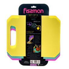 Набор из 3 - х гибких разделочных досок 28 x 20 см Fissman 7831Ножи и столовые приборы<br><br>