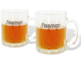 Набор из 2 кружек 350 мл Fissman 9305Чайники и термосы<br><br>