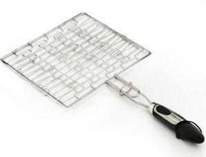 Решетка для гриля плоская 30 x 26,5 x 1,5 см Fissman 1042Кухонные аксессуары<br><br>