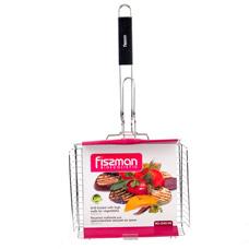 Решетка глубокая для приготовления овощей на гриле 32 x 25,5 x 7 см Fissman 1045Кухонные аксессуары<br><br>
