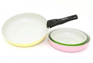 Набор посуды 4 пр Comforto со съемной ручкой Fissman 4860Сковороды<br><br>