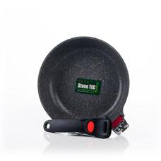 Сковорода для жарки 24 x 5,6 см La Granite со съемной ручкой Fissman 4625Сковороды<br><br>