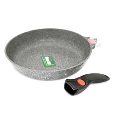 Сковорода для жарки 28 x 5,8 см La Granite со съемной ручкой Fissman 4627Сковороды<br><br>