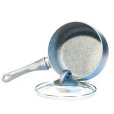 Ковш Moon Stone 16 х 8 см /1.6 л со стеклянной крышкой Fissman 4406Кастрюли<br><br>