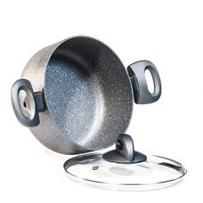 Кастрюля Moon Stone 26 х 11 см / 5.5 л со стеклянной крышкой Fissman 4410Кастрюли<br><br>