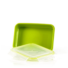 Прямоугольный контейнер для хранения продуктов 22 x15 x 5,6 см / 1100 мл Fissman 6744Кухонные аксессуары<br><br>