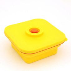Складной квадратный ланч бокс 15 x 15 x 6,5 см / 800 мл Fissman 7315Кухонные аксессуары<br><br>