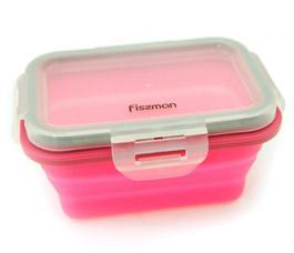 Складной прямоугольный контейнер для хранения продуктов 13 x 9 x 6 см / 300 мл Fissman 7488Кухонные аксессуары<br><br>