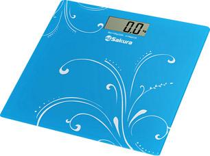 Весы напольные Sakura SA-5065 ultraslim (голубые)Весы напольные<br><br>